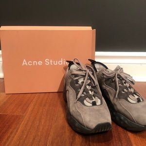 👽Acne Studios Manhattan Suede Sneakers